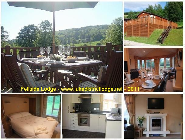 Collage - Fellside Lodge - Lake District - 2011