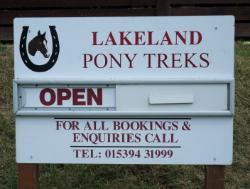 Pony trekking - Limefitt Park